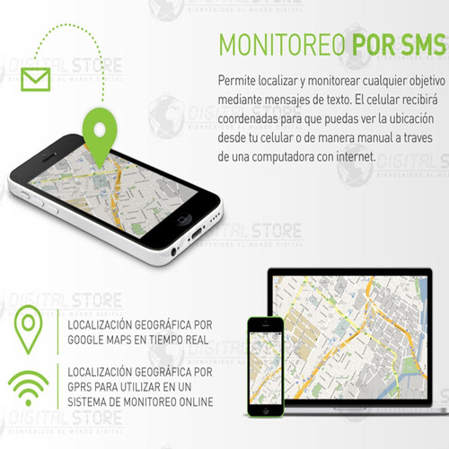 gps tracker localizador rastreador satelital auto + kit 12v