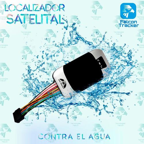 gps tracker localizador satelital contra agua moto,etc 303f