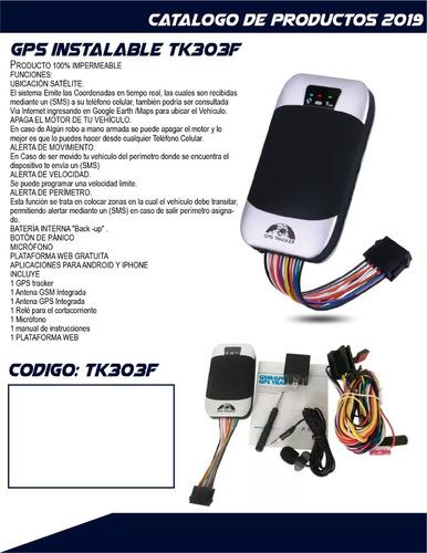 gps tracker para autos y motos