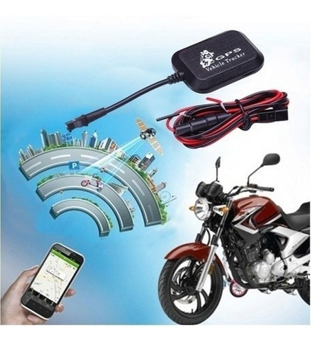 gps tracker para moto vehiculos sms ubicacion real