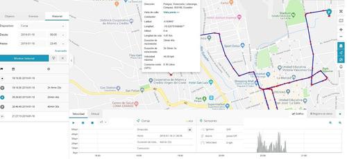 gps tracker plataforma - rastreo satelital todo vehiculo