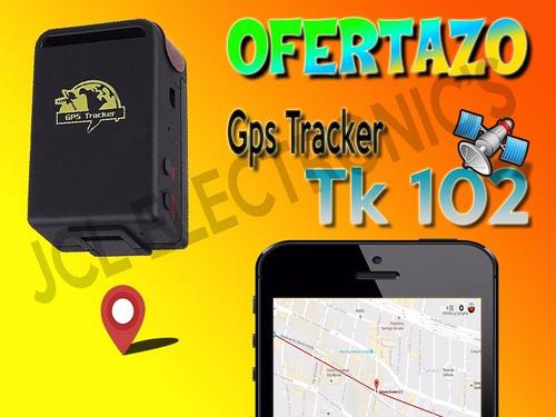 gps tracker portatil espia localizador tk102 gsm sms