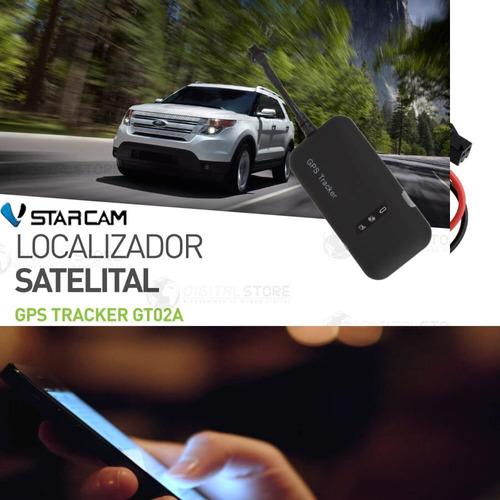 gps tracker rastreador localizador auto movil moto + kit 12v