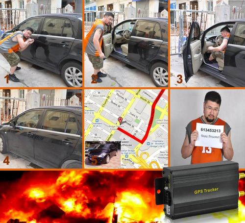 gps tracker rastreo satelital+bloqueo+mic+boton de panico