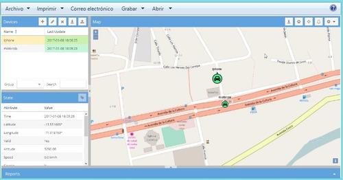 gps tracker tk103b - envios a todo el peru