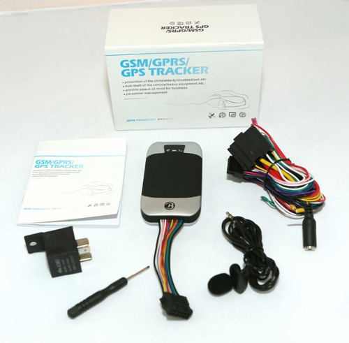 gps tracker tk303f 10años plataforma original localizador