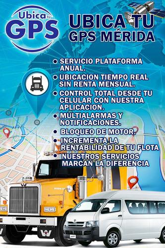 gps traker con servicio de plataforma anual