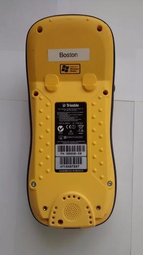 gps trimble geoxm 04 - arcpad y terrasync - submetrico