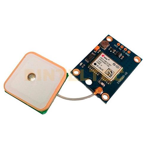 gps ublox neo-6m localizador satelital usa arduino sim900