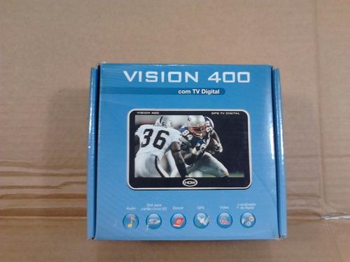 gps vision 400 com defeito tela