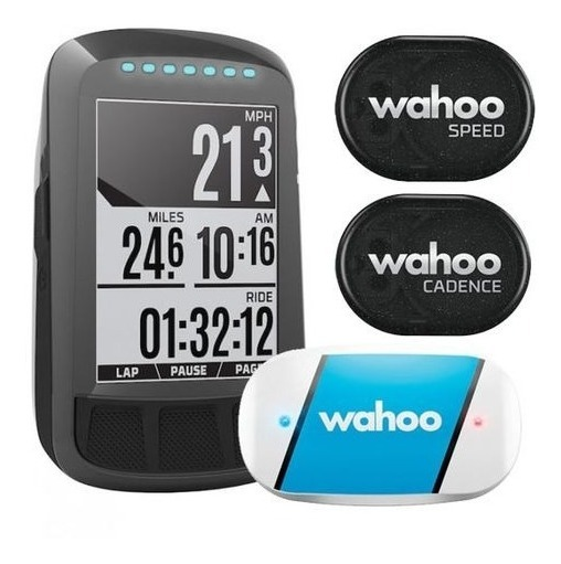 Wahoo Fitness Elemnt Roam GPS Bundle