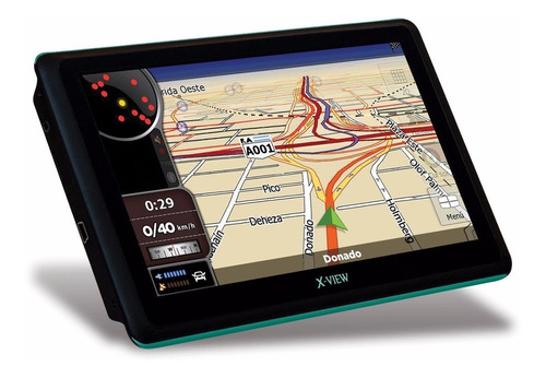 gps x-view navigator 7 tv digital  sistema igo tda