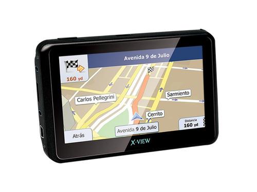 gps xview venture go 4.3 mapas camaras radares alertas igo