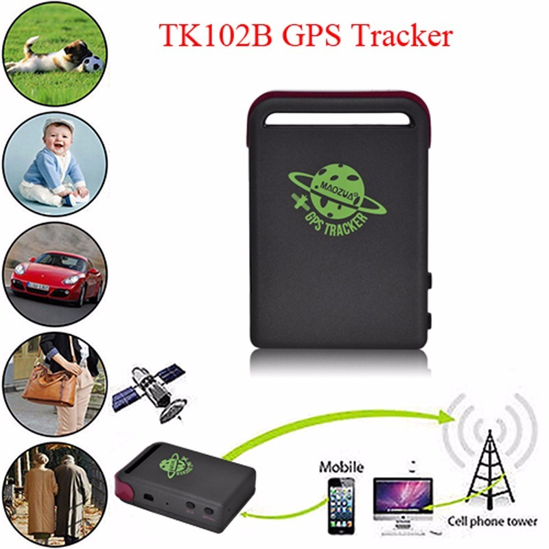 Gps/gsm/gprs Tk102 Alarme Tk102b Mini Gps Tracker