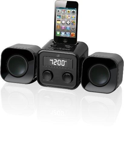 gpx hm102b sistema compacto de música casera con radio am...