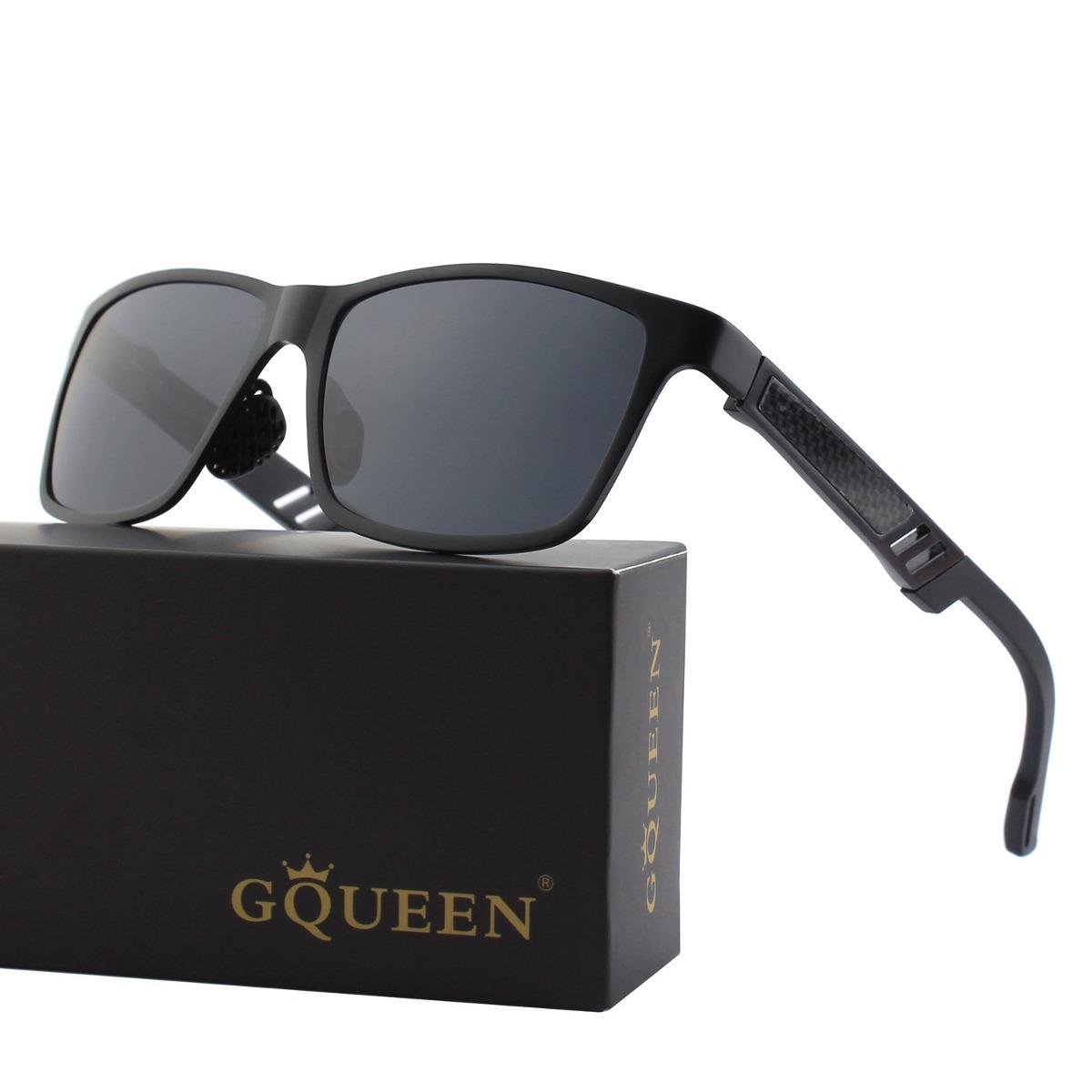 Gqueen Hombres Retro Al-mg Frame Wayfarer Gafas De Sol Polar ...