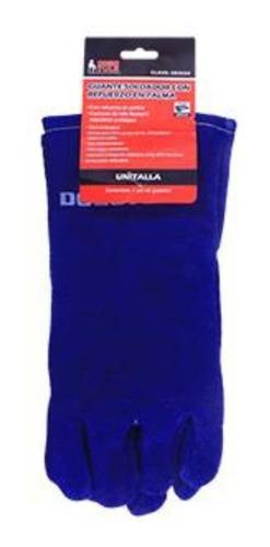 gr3020 guante soldador refuerzo azul dogo