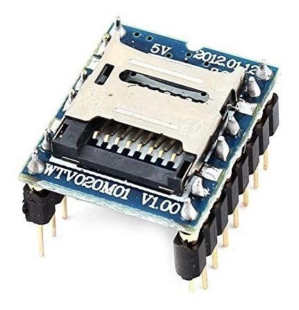 grabacion audio, arduino módulo wtv020-sd-16p