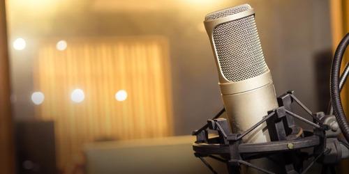 grabación y producción musical, pistas para cantantes