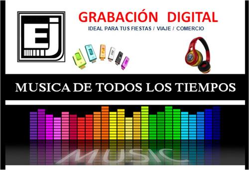 grabaciones digitales música mp3 pendrive cd dvd blue ray
