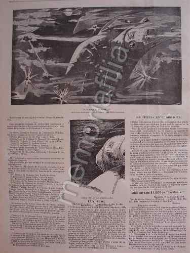 Grabado Antiguo 1896 Profetico dca50bd2c58