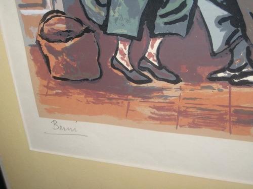 grabado del artista antonio berni!