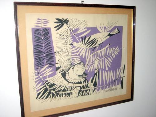 grabado del artista juan batlle planas