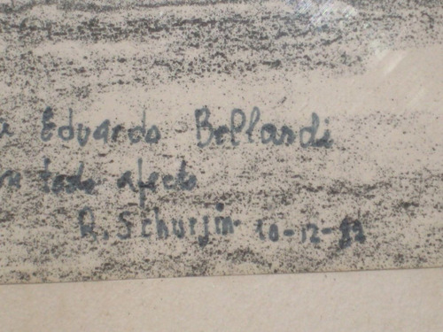 grabado original  de raul schurjin