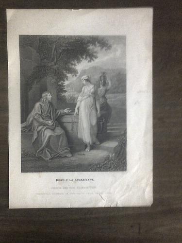 grabado siglo 19  - w- hamilton