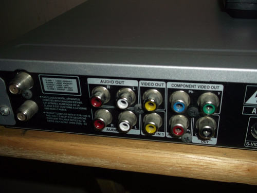 grabador de dvd lg rh 7924n disco duro 160gb
