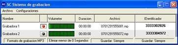 grabador de llamadas telefonicas en mp3 reproductor incluido