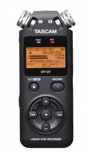 grabador de mano tascam dr 05