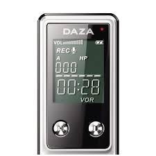 grabador de voz digital espia daza 4g + kit grabacion mp3