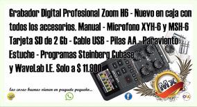 Zoom H6 Manual