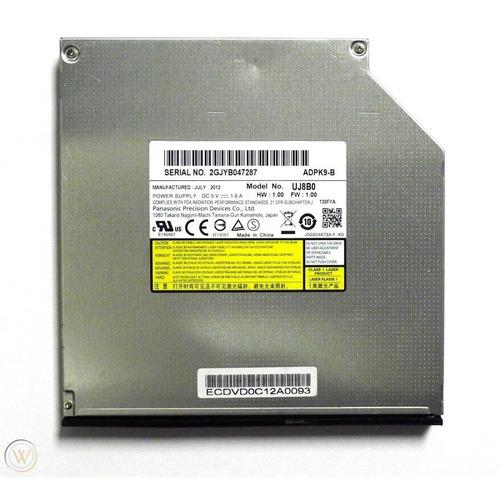 grabador dvd interno doble capa 8x sata slim uj8b0