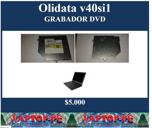 grabador  dvd olidata v40si12