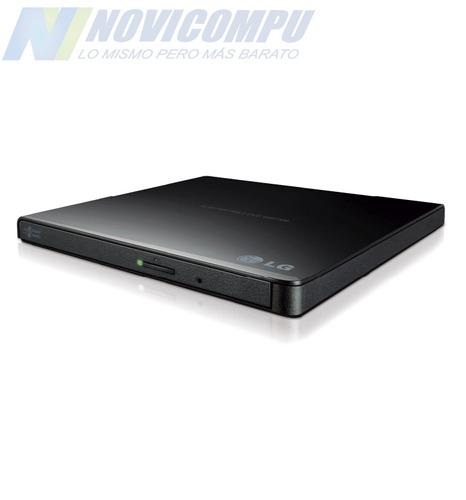 grabador dvd+rw-rw externo usb 2,0 lg g65 ultra slim