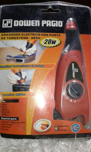 grabador electrico dowen pagio