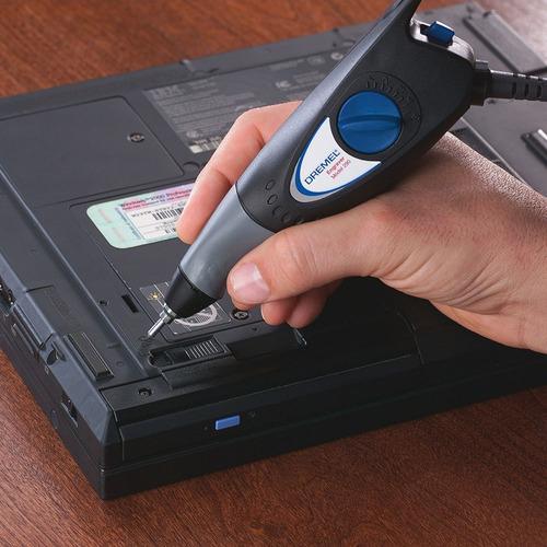 grabador electrico dremel engraver + punta + plantilla