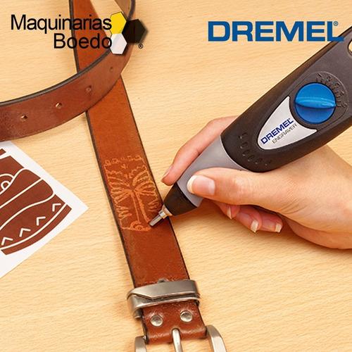 grabador electrico +plantilla letranumer engraver 290 dremel