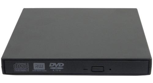 grabador lector cd/dvd externo slim usb 2.0