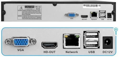 grabador nvr 16 ch hdmi vga red camaras ip cloud p2p onvif
