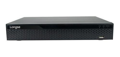 grabador nvr ip longse 9 canales 5 mp - nvr3609d