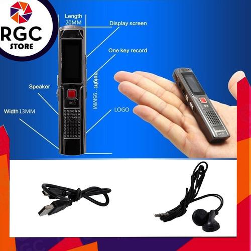 grabador periodista voz digital 8gb aula salon estudiante conferencias + auricular