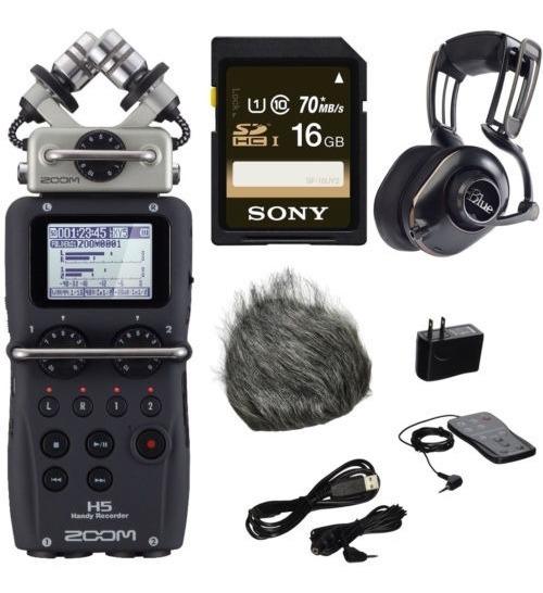 Grabadora De Audio Zoom H4n Pro De Cuatro Pistas Kit De Au