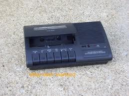 grabadora de casete para lineas teléfonicas tcr-200
