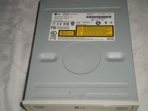 grabadora de cd/dvd marca lg (para mantenim./reparac.)