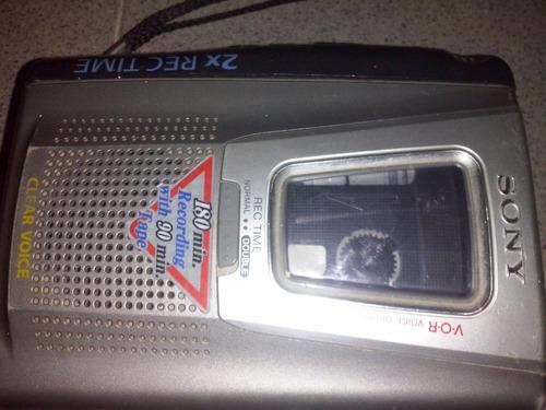 grabadora de periodista sony