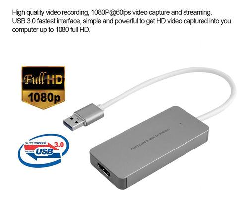 grabadora de video hd ezcap265 1080p usb 3.0 p/videojuegos