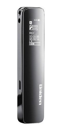 grabadora de voz digital 8gb aa1105 uniden - negro